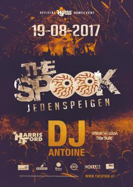 The SPOOK 2017 mit DJ Antoine, Harris & Ford & more!
