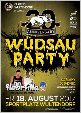 Wüdsauparty 2017 - (20 Years Anniversary)