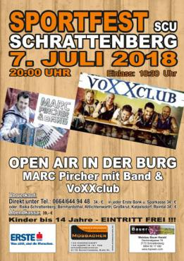Sportfest SCU Schrattenberg 2018