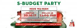 S-Budget Party Wien - Semester Opening