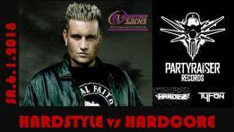 Hardstyle vs Hardcore mit Partyraiser