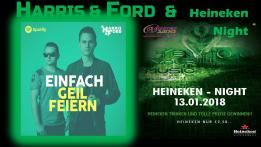 Harris & Ford & Heineken Night