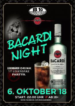 B10 Bacardi Night