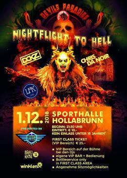Nightflight to hell