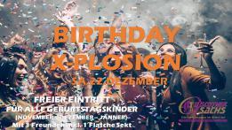 Birthday X-Plosion