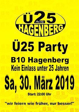 B10 Ü25 Party