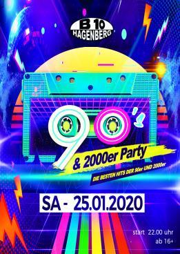 B10 - 90 & 2000er Party
