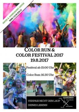 Color Fun Run & Color Festival 2017
