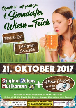 1. Sierndorfer Wiesn am Teich