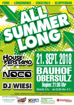 All Summer Long Party 2018