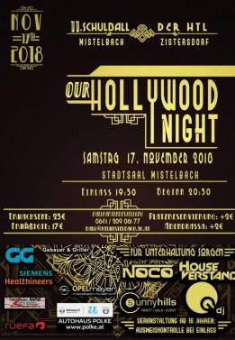 "11. HTL-Ball: ""Our Hollywood Night"""