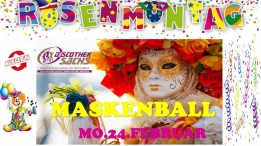 Maskenball am Rosenmontag